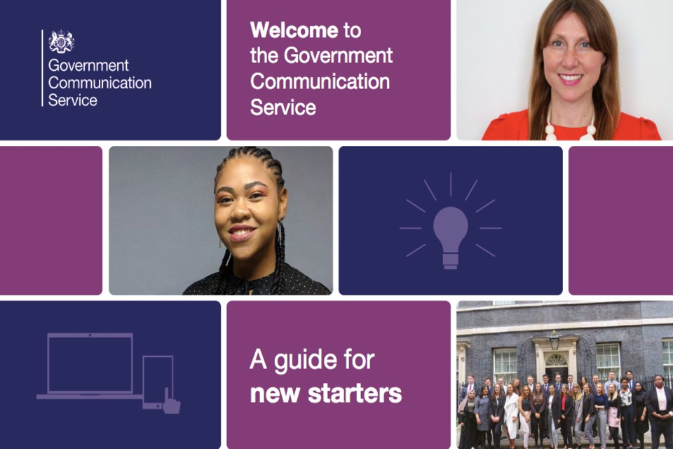 Front cover of the New Starter Pack.